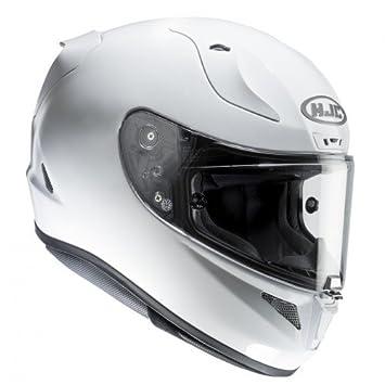 HJC 13202908 Casco de Moto, Blanco Perlado Ryan, Talla M