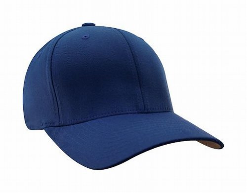 Premium Original Flexfit Wooly Combed Twill Youth Cap 6277Y (Royal Youth Visor)