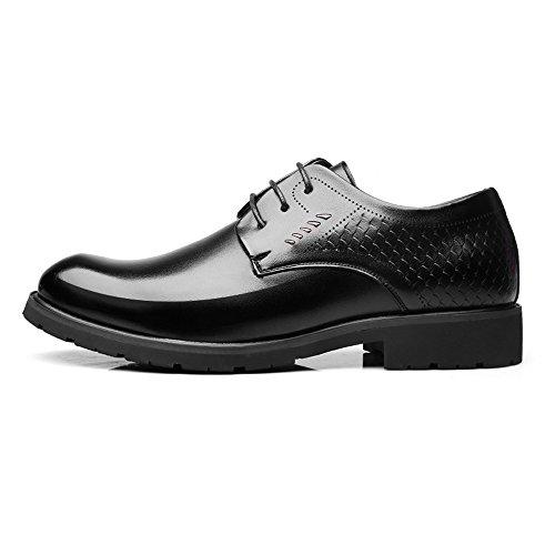 Nero lavoro di da Nero pelle Dimensione in EU Scarpe 38 BMD Color uomo da vera pelle Shoes Scarpe fpxwqO