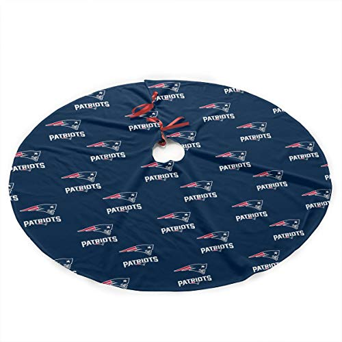 - Jerrymoaus New England Patriots Simple Christmas Tree Skirt