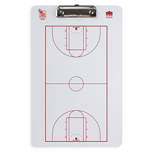 - Crown Sporting Goods Dry Erase Basketball Coaching Clipboard
