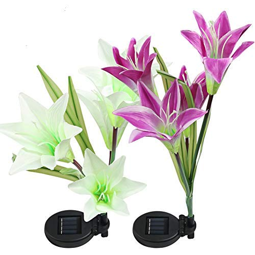 Purple Led Flower Lights in US - 6