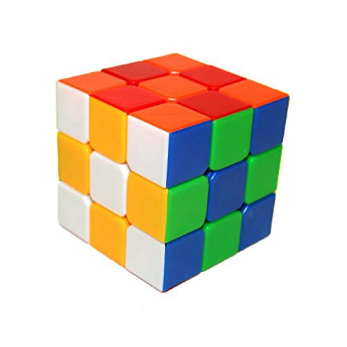 Dayan Guhong 3x3 3x3x3 Speed Cube Anti-POP Structure 6 Solid Color Eco-friendly Plastics Stickerless Cube (New Design)