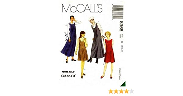 4a7cdd12715ec9 Amazon.com  McCall s 8365 Sewing Pattern Misses Front Tuck Scoop Neck Jumpers  Size 8 - 12  Arts