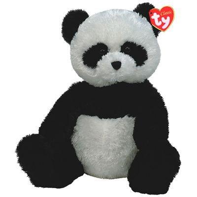 Ty Classic Shanghai Black and White Panda