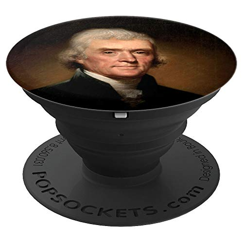 (Jefferson President Thomas Jefferson Rembrandt Peale - PopSockets Grip and Stand for Phones and Tablets)