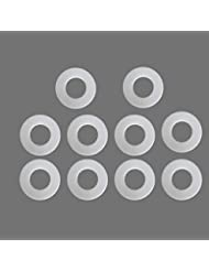 ZFE® Teflon Washers For 4Mm Shaft Rc Boat Pack Of 10Pcs