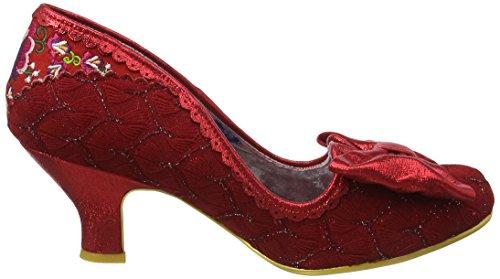 Suljetun Epäsäännöllinen Naisten Valinta Hymy Aina Toe punainen Heels Red qISBwI