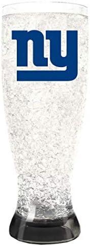 NFL Unisex Crystal Freezer Pilsners