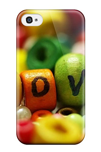 Protective Tpu Case With Fashion Design For Iphone 4/4s (sweet Love ) (Iphone 4s 16 Gigabytes)