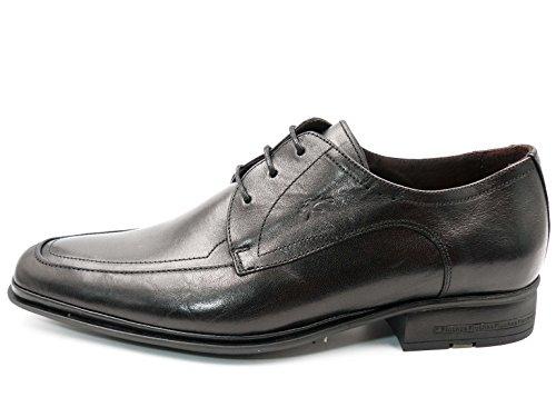 8601 hombre negro FLUCHOS vestir piel color 51N Zapatos negro para RqaSBwa0