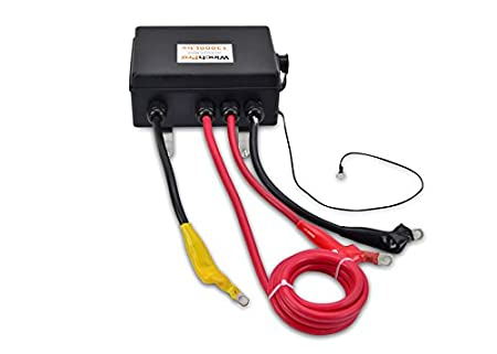 Cabrestante Electrico Winch 12v 5900Kg 13000Lbs Cuerda Sintética Para Grúa, 4x4, Todoterreno: Amazon.es: Bricolaje y herramientas