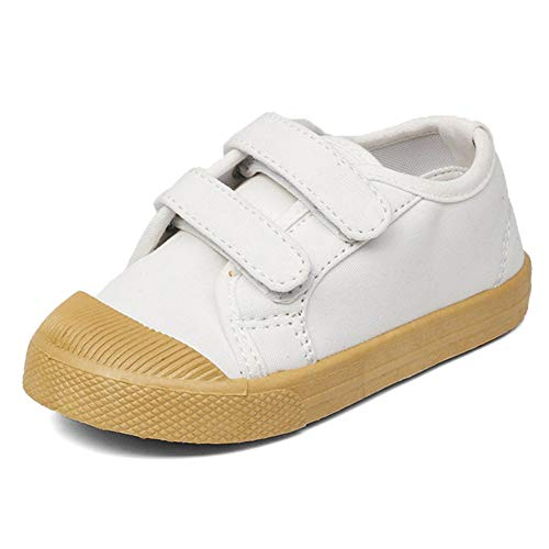 (Kids Canvas Sneaker Slip-on Baby Boys Girls Casual Fashion)