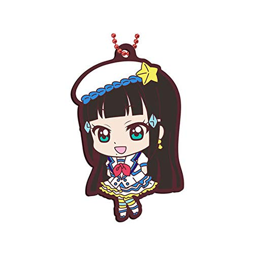 - Love Live! Sunshine!! Dia Kurosawa Aozora Jumping Heart Ver. Character Gacha Capsule Rubber Key Chain Mascot Collection Vol.13 Anime Girls Art