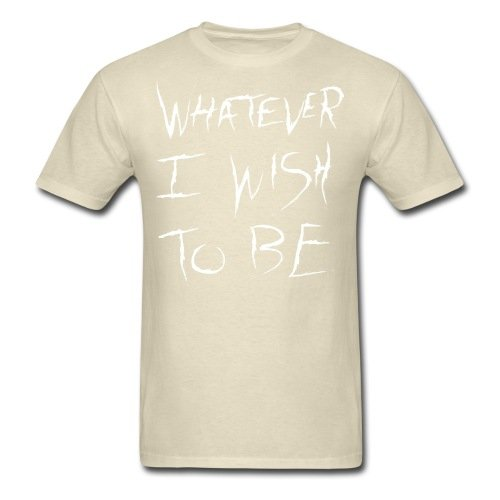 Spreadshirt Men's Onision Whatever T-Shirt, khaki, M