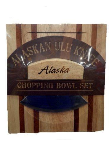 Alaskan Ulu with Chopping Bowl