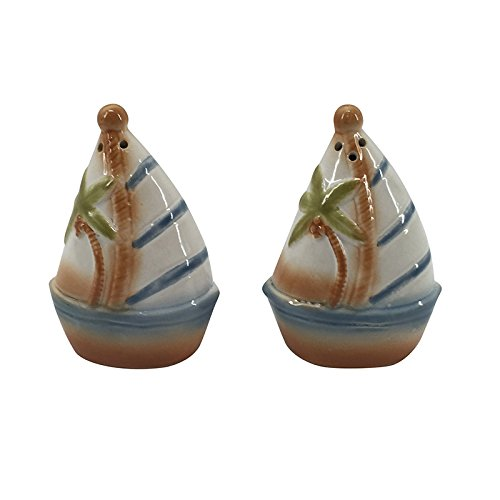 41IIFPi82OL The Best Beach Themed Salt and Pepper Shakers