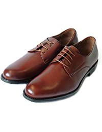 NEWDELLI ALDO MENS LACE UP ROUND TOE OXFORDS LEATHER LINED DRESS SHOES-M19170 / BROWN