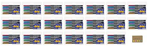 20 Fudebiyori Bush Kuretake Pen 6 Value Metallic Colors Set Set Notes Sticky pack 0w4OHqd