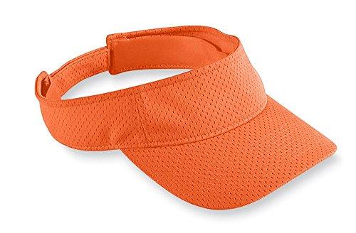 Augusta Sportswear 110489.27 Kids' Athletic MESH Visor Orange, One Size ()