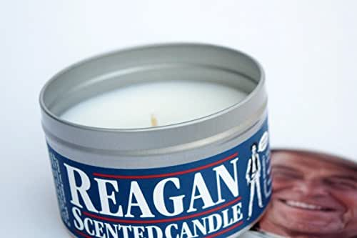 Ronald Reagan Scented Candle | Funny presidential gift | Funny Gift for a Republican | GOP | Funny 80s gift | Cold War | Jellybeans