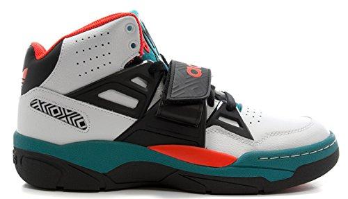 Adidas Mutombo TR Block Men's Basketball Shoes RunWhite/Ocean/Lead Size 9 U.S.