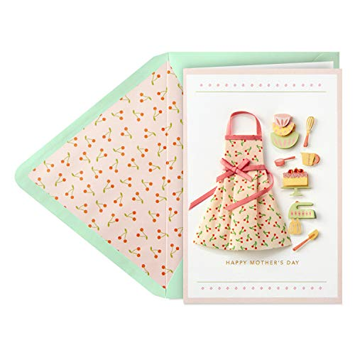(Hallmark Signature Mothers Day Card (Baking Memories))