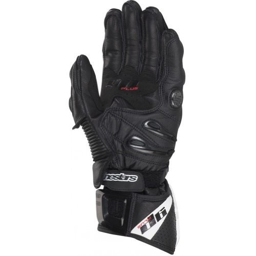 Alpinestars Stella GP Plus Women's Leather Street Racing Motorcycle Gloves - Black / X-Large