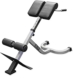 Valor Fitness Adjustable Back Extension  sc 1 st  Amazon.com & Amazon.com : Bodycraft F670 Hyper-Extension/Roman Chair : Sports ...