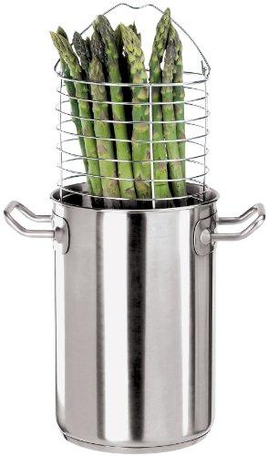 Paderno World Cuisine 5-Quart Stainless-steel Asparagus Pot