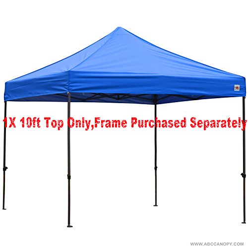 ABCCANOPY Deluxe replacement canopy top/roof for 10×10 ft Ez Pop Up canopy gazebo (Royal blue) For Sale