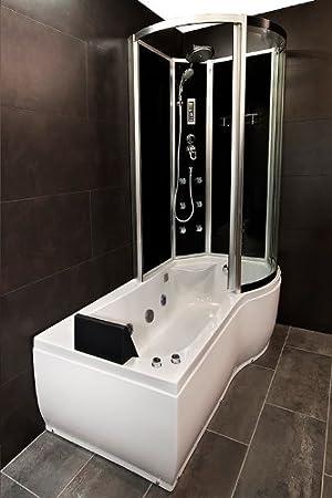 Acquavapore Dtp8050 A303l Whirlpool Badewanne Dusche Duschkabine