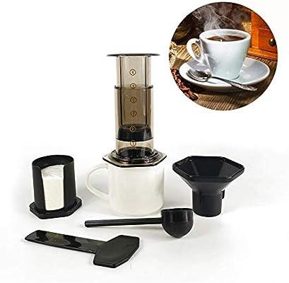 WANGYONGQI 350 ml Nuevo Filtro Cristal Café expreso Cafetera ...