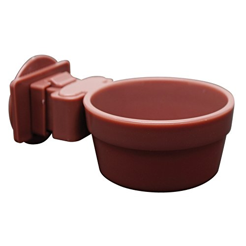 Cage Bowl (Living World Lock and Crock Dish, 6-Ounce)