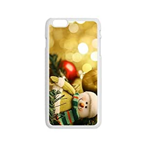 Christmas And Snowman Hight Quality Plastic Case for Iphone 6