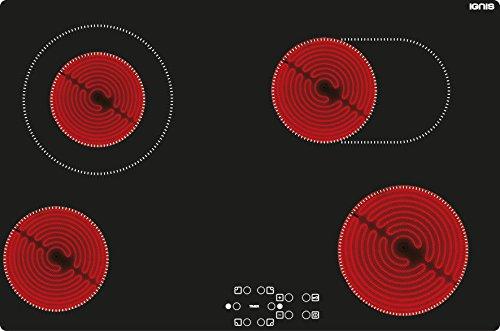Ignis AKL 7010 NE vitrocerámica hobs 770 mm Easy Touch de ...