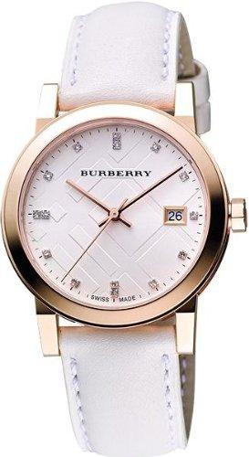 UPC 822138040181, Burberry The City Leather Diamond Ladies Watch BU9130