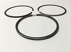 YAMASCO 277-23513-17 Piston Ring Anillos Set fit Robin Subaru EX17 EX 17 EX21 67.5MM O/S 0.5#777 020