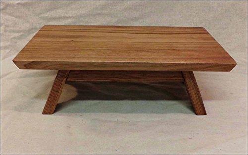 "EarthBench Pedestal Stand ~ BUTTERNUT (Shrine Table Pedestal: 15""×9"" wide)"