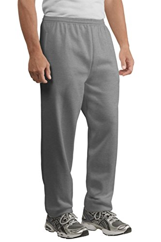 Port & Company Men's Ultimate Sweatpant with Pockets M Athletic Heather