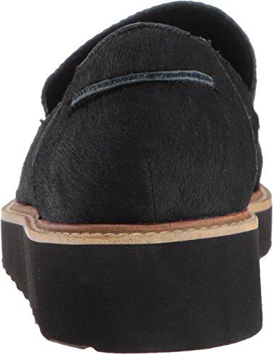Azura By Lente Opstap Dames Montuur Instappers Loafer Zwart