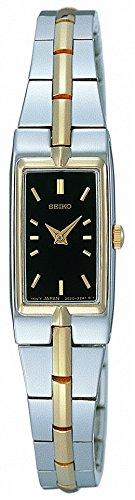 Seiko Women's SZZC42 Dress Two-Tone Watch (Dial Dress Silver Tone Two)
