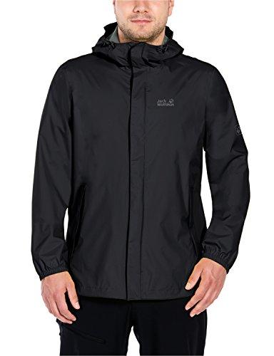 Jack Wolfskin Men's Cloudburst Jacket, Black, XL from Jack Wolfskin