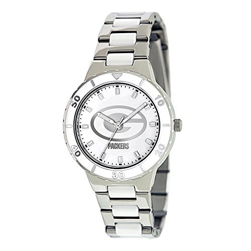 Gifts Licensed Gifts Ladies NFL Green Bay Packers Mother of Pearl Watch