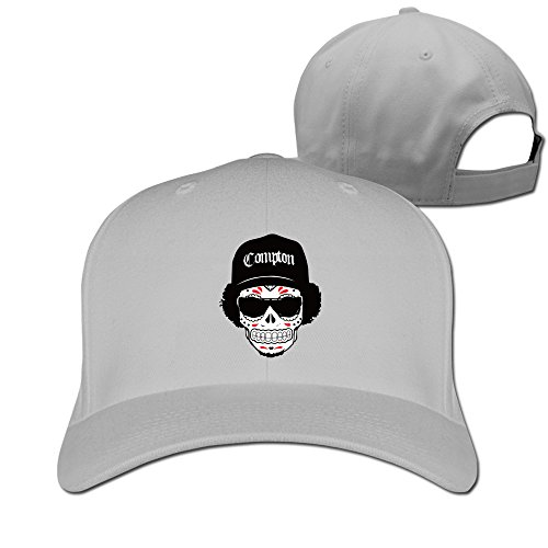 Unisex LunaCpt Skull Wearing Hats And Sunglasses Cap Ash One ()
