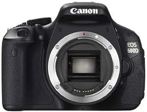 Canon EOS 600D - Cámara Réflex Digital 18.7 MP (Cuerpo) (importado)