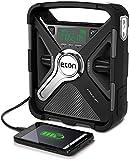 Eton FRX5BT All Purpose Weather Alert Radio with Bluetooth, Black