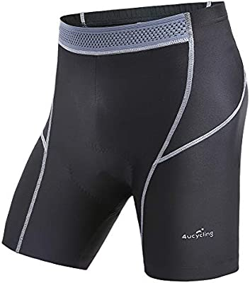 Women 4ucycling 3D Silicon Gel Padded bike Underwear Shorts Breathable,Lightweight,Men