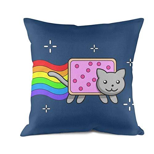 LHSCVUFASC Nyan Cat Cartoon Cat Pop Tart