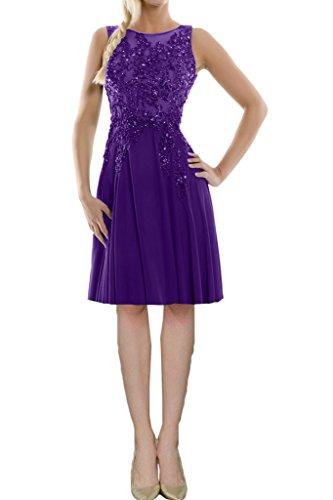 Missdressy Abendkleider Chiffon Lang Aermellos Festkleider Abiball Rueckenfrei Ballkleider Violett Rundkragen Elegant 1 Abschlussball Satin Tuell Z8ax4wZqr